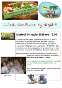 BiciPizza by Night