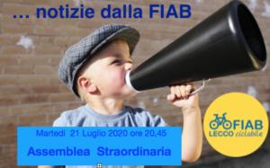Assemblea Straordinaria di Fiab-LeccoCiclabile